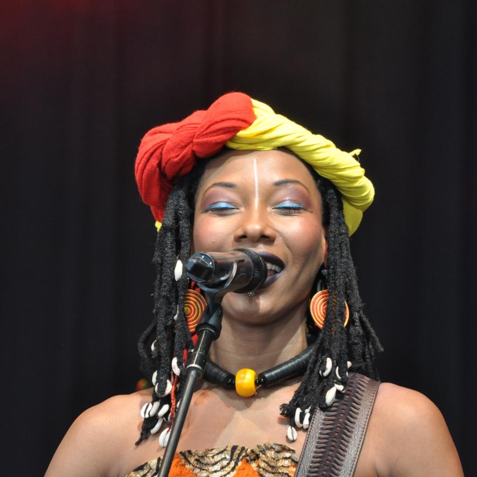 Fatoumata Diawara @ Bonnaroo 2013