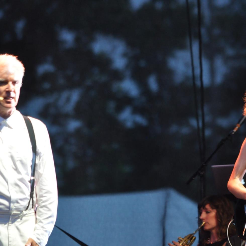 David Byrne & St.Vincent @ Bonnaroo 2013