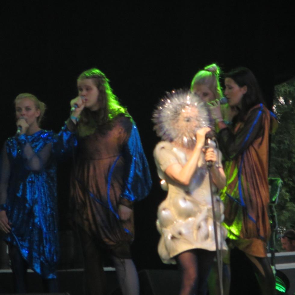 Björk @ Bonnaroo 2013