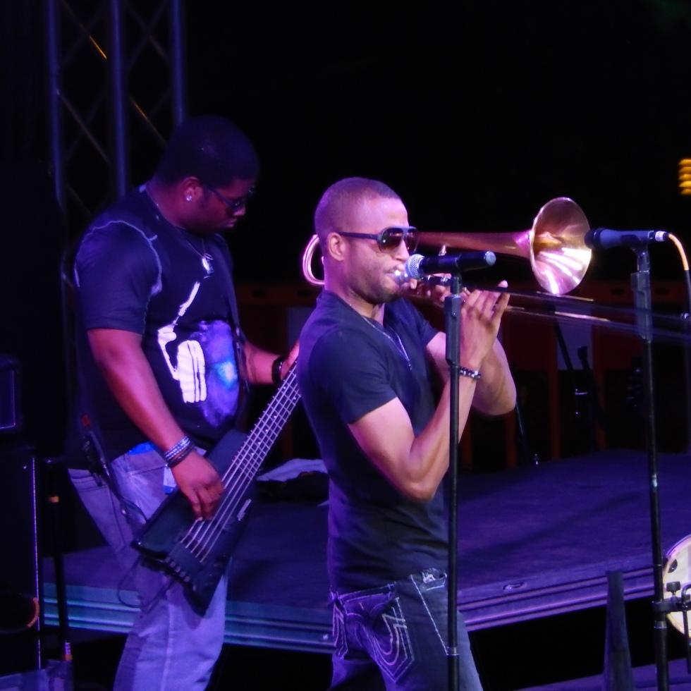 Trombone Shorty & Orleans Avenue @ Woodward Park Fresno