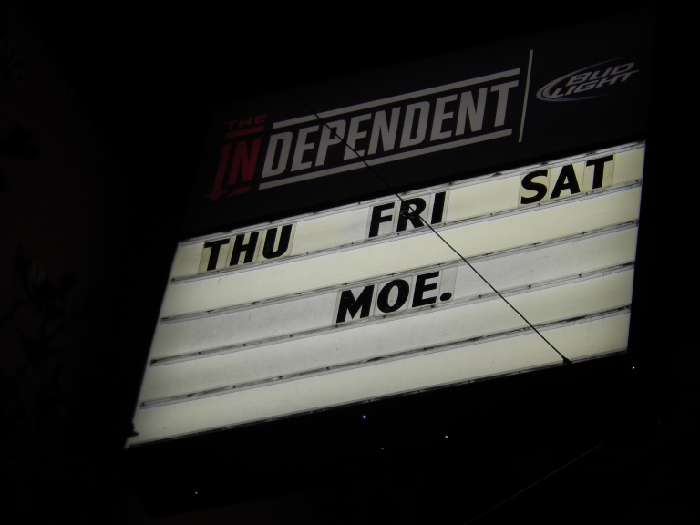 moe. @ The Independent, San Francisco